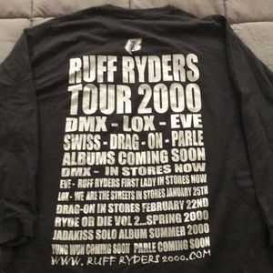 Vintage Ruff Ryders 2000 Tour L/S Tee